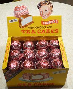 Tunnocks Tea Cakes - Yum!