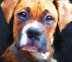 Pooch Painting by Robert Smith - Pooch Fine Art Prints and Posters for Sale