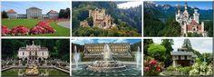 Les Châteaux de Louis 2 de Bavière ; magie royale sur la route romantique allemande