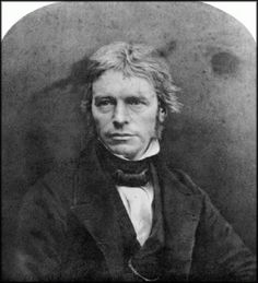 Michael Faraday. Experimental physicist, especially electro-magnetics (remember Faraday's Law?). Born in Newington Butts but brought up near Oxford Street. Trained as a bookbinder and here he was given tickets to some Davy lectures at the Royal Institution. This experience caused him to take up a scientific career, a novel idea in those days. Davy gave him a job as a laboratory assistant with accommodation at the RI, where he lived and worked, 1813 – 1858.cont