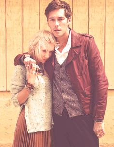 Clare Bowen & Sam Palladio from the show Nashville