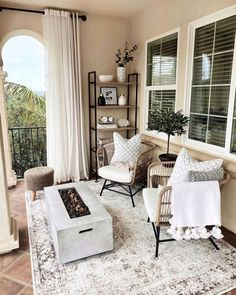 Outdoor Living Rooms, Outdoor Spaces, Indoor Outdoor, Outdoor Decor, Cozy Living Spaces, Outdoor Kitchens, Zen, Exterior, Apartment Living