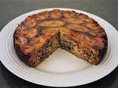 Banana Upside-Down Cake recipe