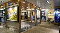 Art Gallery, Royal Princess – Top 10 Best Royal Princess Features   Popular Cruising (Image Copyright © Jason Leppert)