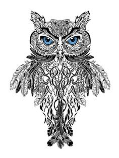 Owl tattoo insperation - by iberiko on deviantART