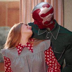 Marvel Wallpaper, Disney Wallpaper, Wanda Marvel, Avengers Images, Marvel Couples, Scarlet Witch Marvel, Vision Art, Marvel Photo, I Believe In Love