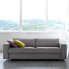 Καναπές κρεβάτιHydraαπό τον Ιταλικό ΟίκοNoctis. Ένας μοντέρνος καναπές με καθαρές ευθείες γραμμέςόπουη μετατροπή του σεκρεβάτι όταν το χρειάζεστεθα