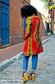 SEW WHAT?.....A dashiki shirt dress. that's what! [Pattern review]