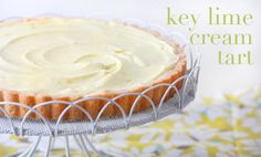 I love Key Lime Pie... I'm going to try out this key lime cream tart