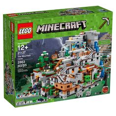 #LEGO #Minecraft The Mountain Cave (21137) Officially Announced - http://www.thebrickfan.com/lego-minecraft-the-mountain-cave-21137-officially-announced/