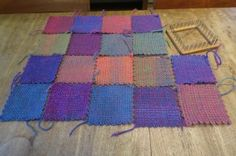 Weaving a blanket More