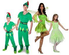 Grupo Familia Peter Pan #disfraces #carnaval #disfracesparagrupos