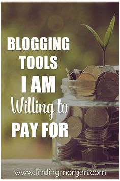 Blogging Tools I Am Willing to Pay for