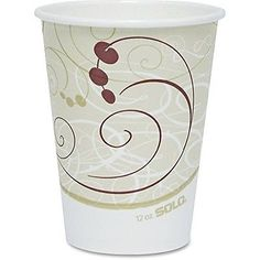 Paper Cups 179200: Company Symphony Design Hot Cups, 12 Oz. (Set Of 1000) -> BUY IT NOW ONLY: $93.5 on eBay!