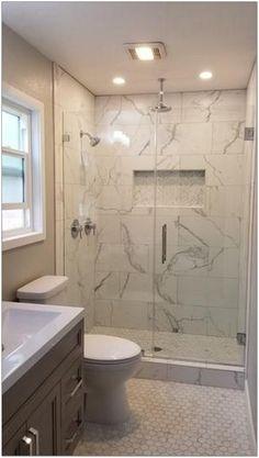 47+ Wonderful Bathroom Shower Tile Ideas That Will Enhance Your Bathroom 17 - decorhomesideas #bathroom#bathroomshower#bathroomideas