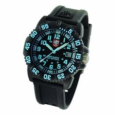 Luminox Women's A.7053 Colormark Stainless Steel Watch Luminox. $350.00. Water-resistant to 660 feet (200 M). Scratch resistant mineral glass crystal. 20 mm, Black PU Signature strap with steel brushed signature buckle. Precise Swiss-quartz movement. Battery life 50 months
