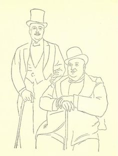 Portrait+of+Diaghilev+and+Seligsberg+-+Pablo+Picasso