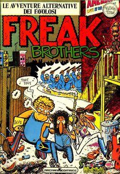 Catalogo fumetti ARCANA, Freak Brothers