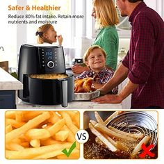 Now that you know the basics of a good air fryer, let's have a look at these options below. Our top 10 best air fryers in 2020 are among the finest ones in stores that should give you a great deal for your money. Best Air Fryers, Top Air, No Cook Meals, Dishes, Cooking, Healthy, Food, Basket, Digital