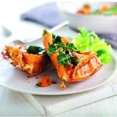 Curried sweet potato frittata, a delicious recipe from the new Cook with M&S app.