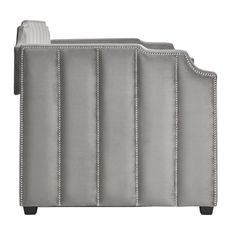 Willa Arlo Interiors Elof Twin Daybed & Reviews | Wayfair Pull Out Sofa Bed, Trundle Mattress, Modern Daybed, Upholstered Daybed, Shop Interiors, Nailhead Trim, Bed Sizes, Luxury Furniture, Upholstery