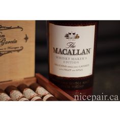 #Macallan #Whisky Maker's Edition #scotch and some #DonPepin #cigars last night. #nicepair!