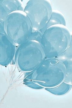 Blue Aesthetic Discover Rebel In A New Dress balloons Light Blue Aesthetic, Blue Aesthetic Pastel, Aesthetic Colors, Rainbow Aesthetic, Aesthetic Collage, Aesthetic Clothes, Blue Wallpaper Iphone, Blue Wallpapers, Wallpaper Lockscreen