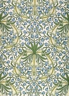 Image of hareball wallpaper, by william morris. england, late century by V Images Art Nouveau, Art Deco, Fabric Wallpaper, Of Wallpaper, Wallpaper Designs, Textile Design, Design Art, Fabric Design, Interior Design