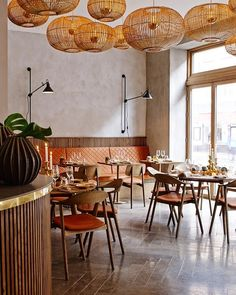 My chair Karm at the restaurant Kiin Kiin Bao Bao in Copenhagen. Decoration Restaurant, Bar Restaurant Design, Deco Restaurant, Restaurant Seating, Restaurant Concept, Outdoor Restaurant, Restaurant Furniture, Restaurant Oriental, Bar Bistro