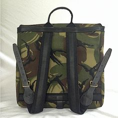 Buy the Original Peter Record Rucksack (Camouflage) now for 265.00 GBP