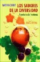 Título: Los sabores de la diversidad, recetario sin fronteras / Autor: Charaf Paolantonio, Martina / Ubicación: FCCTP – Gastronomía – Tercer piso / Código:  G/INT/ 641.568 CH23