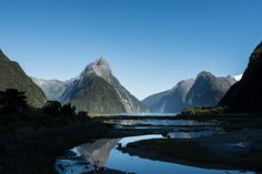 by Timo Kellenberger New Zealand Mountains, Milford Sound, Mount Everest, Nature, Travel, Naturaleza, New Zealand, Mountains, Viajes