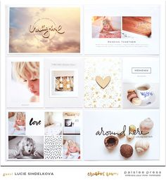 Project Life page layout idea. Love all the white and the modern minimalist style. Project Life Scrapbook, Project Life Album, Project Life Layouts, Project Life Baby, Pocket Scrapbooking, Scrapbooking Layouts, Digital Scrapbooking, Digital Project Life, Life Page