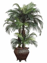 Bring home the tropics with this artificial palm tree from QualitySilkPlants.com. Feel the warmth in the middle of winter.