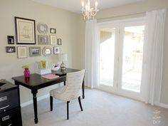 Home Office Decorating Ideas | LiveLoveDIY