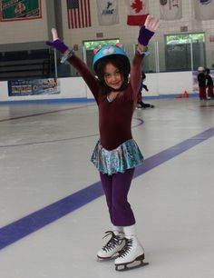 Maddie in skating dress  made 03_12