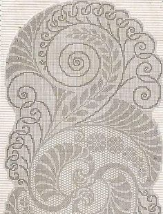Fillet Crochet, Cross Stitch, Tapestry, Rugs, Antiques, Home Decor, Crochet Table Runner, Crochet Curtains, Table Runners