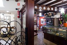 Sala Interna Osteria al Bacareto... Excellent dinner here.