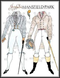 Edmund Bertram's wardrobe - Mansfield Park - By Donald Hendricks