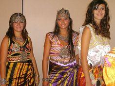 Tenues mariées algériennes et kabyles