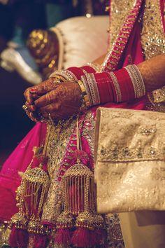 'Chura' (thick bangles) & 'Kaleera' (hangings from the wrist)