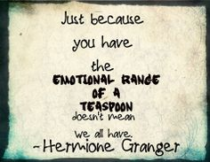 Hermione Granger quote, The Order of the Phoenix