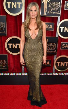 Jennifer Aniston looks hotter than ever in vintage Galliano!