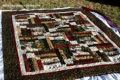 Memory Lane quilt by Judy. Quilting by Charisma of Charisma's Corner.