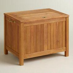 Natural Wood Outdoor Cooler