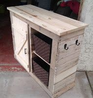 Kitchen Island Built From Pallets --- #pallets