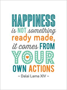 Happiness Is Quote Card for Digital Project Life