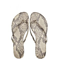 Take our quiz to discover your Spirit Print! Penny Leather Flip Flops