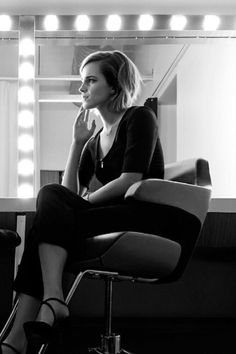Emma Watson by Art Streiber for Esquire UK, April 2016
