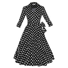 Maggie Tang 3/4 Sleeve 50s 60s Vintage Swing Dress Black With White Dots Size S Maggie Tang http://www.amazon.com/dp/B00S7U523A/ref=cm_sw_r_pi_dp_ujRWub1APGN15
